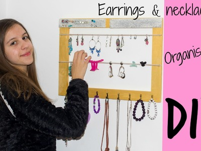 Earrings&Necklace organization | Collab with Maja BeCreative