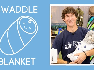 Easiest Swaddle Baby Blanket Ever