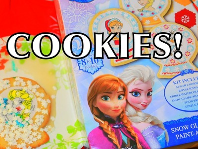 Elsa Frozen Cookies Disney Princess Anna Olaf Kristoff Sven Christmas Cookie Nerdy Nummies Recipe