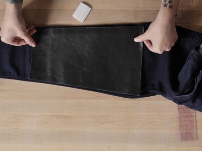 How to Add Panels to Your Jeans   Levi's®