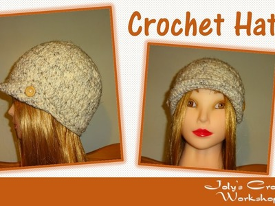 How to Crochet a Hat  -  Women's Cap