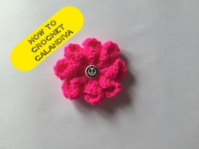 How to crochet calandiva