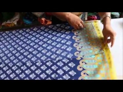 How To Cut A Kameez (Kurti) Easy Step by Step and Stitch it Part-1