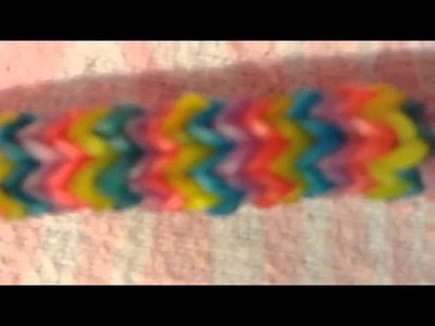 How to make a bracelet with Creative Diy Rainbow Loom Bands Kit