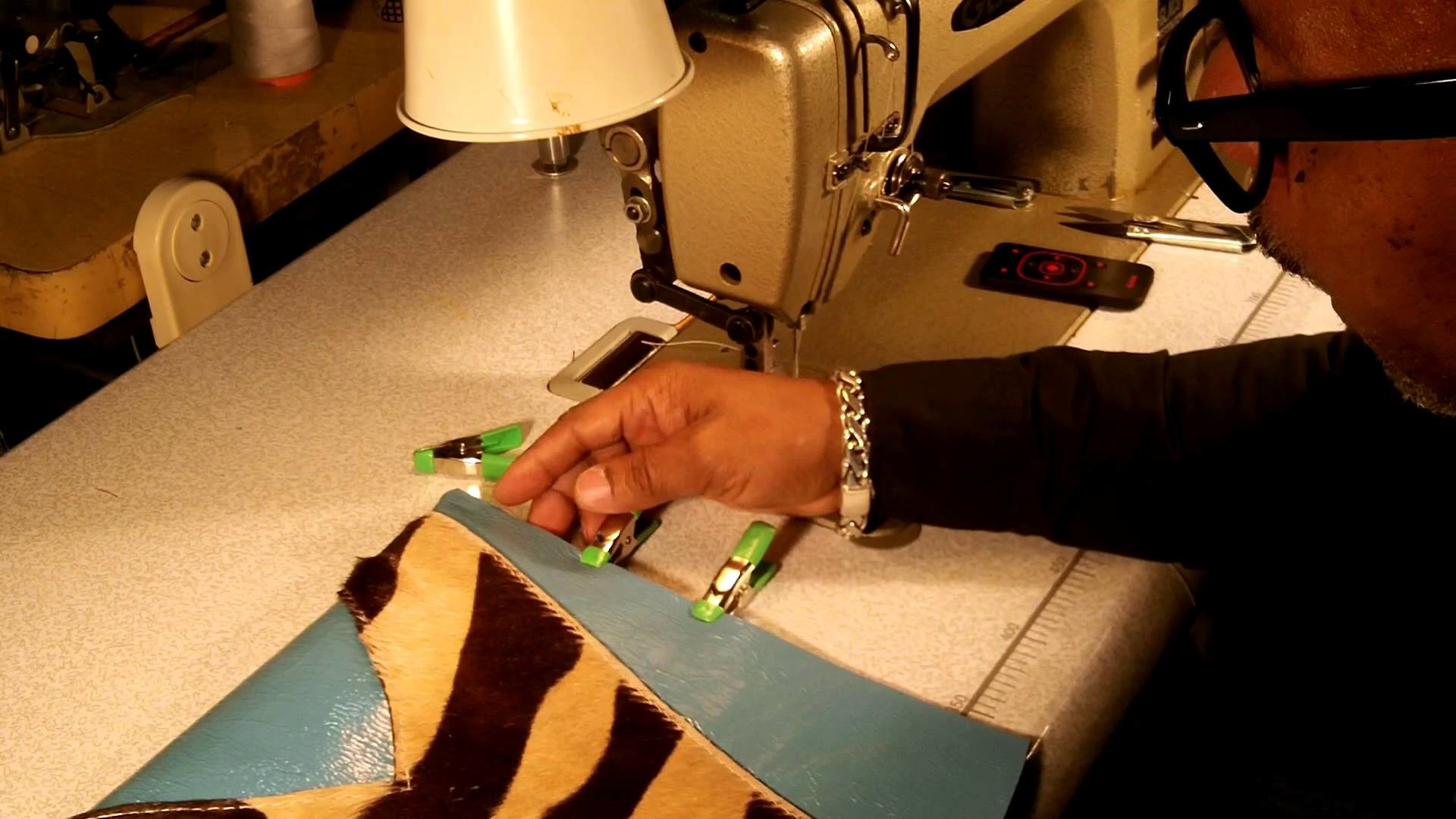 How To Make A Leather Clutch Bag Part 4 of 5