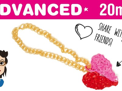 How to make a Loom Bands Heart Necklace