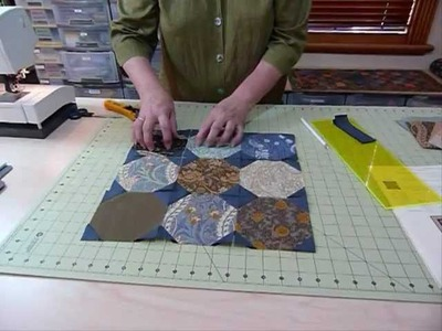 """How to make a SnowBall Block using 5"""" squares - Quilting Tips & Techniques 033"""