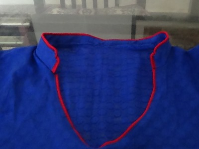 How To Make Chinese Collar For Kurti