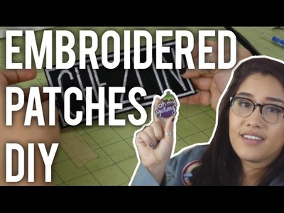 How to Make Custom Embroidered Patches : DIY - Giveaway closed! Winner TBA 4.28.16!