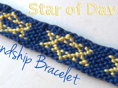 How to Make Friendship Bracelets ♥ Star of David