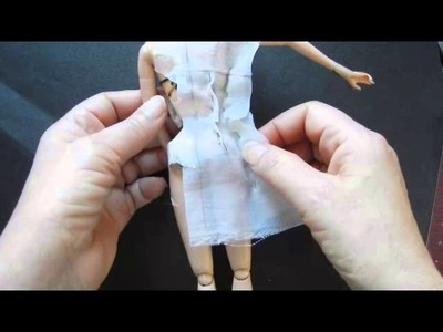 How to Make Slopers for the fashion doll: Pt. 6: 1-pc Foundation