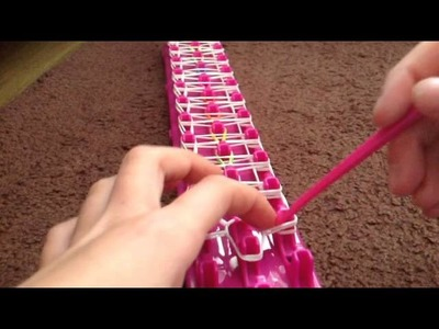 How to make the ladder bracelet ( loom bands )