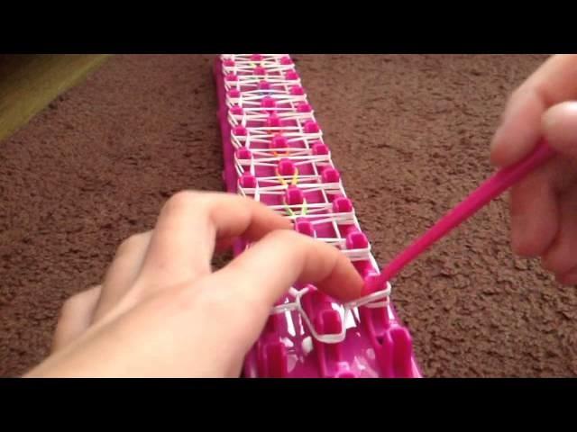 How to make the ladder bracelet ( loom bands )