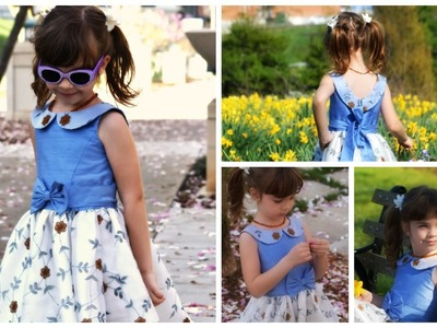 How to sew a dress for girls - Vivienne