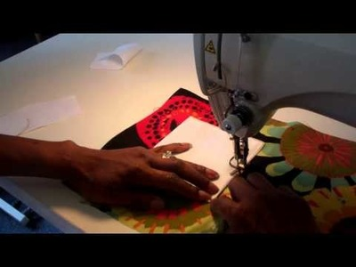 How to Sew a Patch Pocket w. a Flap