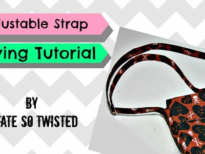How To: Sew An Adjustable Bag Strap