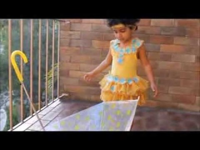 How to sew an easy & Beautiful dress for Little girl