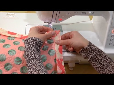 How to Sew Perfect Mitered Corners