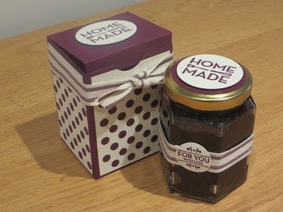 Jam Jar Gift Box Tutorial using Homemade for You by Stampin' Up