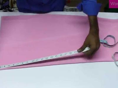 Ladies Formal Shirt 1  Marking & Cutting