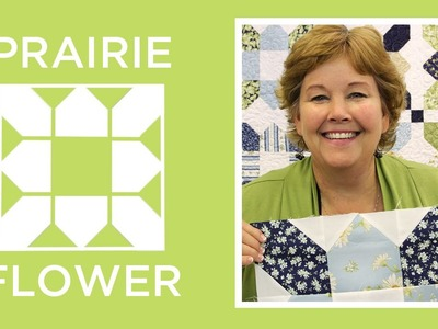 Make an Easy Prairie Flower Quilt with Jenny!