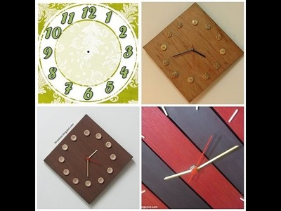 Make your own Do-it-yourself Wall Clock