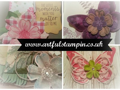 {Making up cards from scraps with Ruth Trice} aRtful Stampin