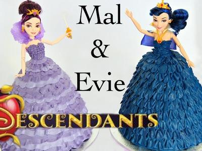 Mal & Evie Descendants Doll Cake - CAKE STYLE