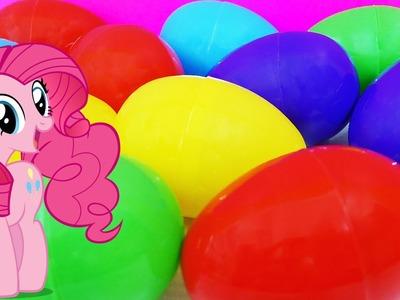 MLP Surprise Eggs My Little Pony Rainbow Dash Pinkie Pie Applejack Princess Celestia Twilight Sparkl
