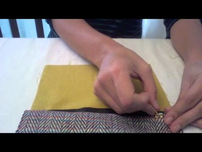 NEW How to Sew a Make-up Bag: anne b