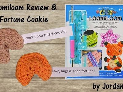 New Loomiloom Review & 3D Loomigurumi Amigurumi Fortune Cookie Rainbow Loom Band Crochet Hook Only
