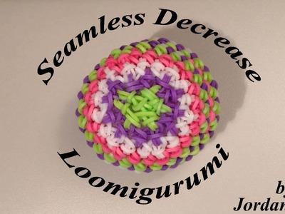 New Seamless Invisible Decrease Loomigurumi Amigurumi Rainbow Loom Band Crochet Hook Only - Ball