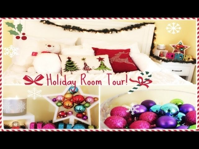 Niki's Holiday Room Tour! + Easy ways to decorate for the holidays!
