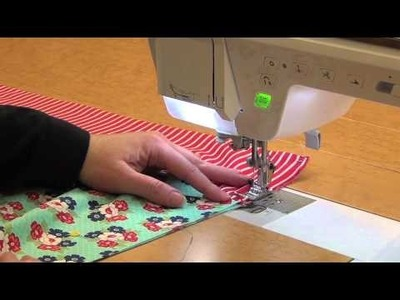 One Million Pillowcase Challenge: Finish with French Seams