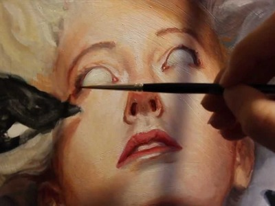 """Painting Process: The Making of """"Omens"""""""