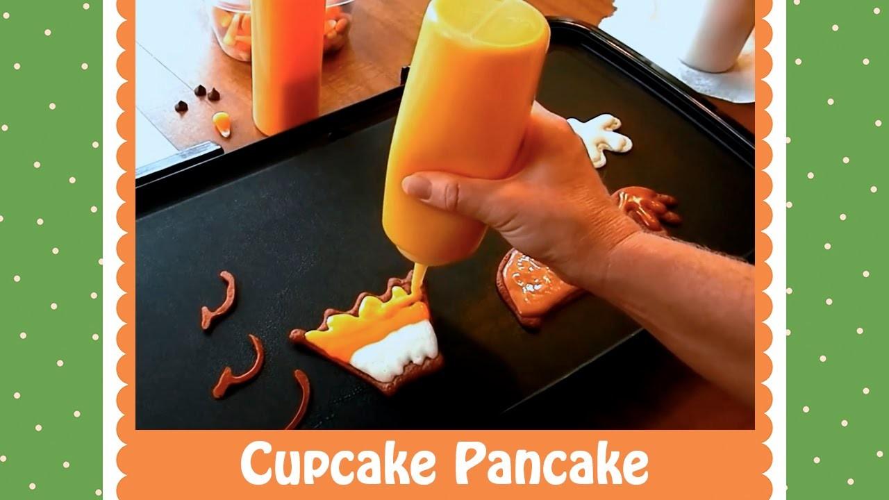 Pancake Art Tutorial: Cupcake by Jenni Price