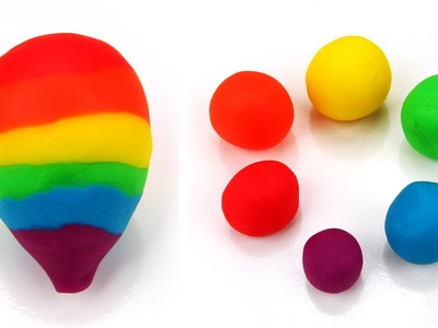 Play Doh Rainbow Balloon from Bloons Tower Defense! Easy