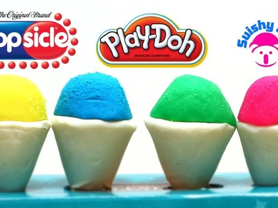 Play-Doh Snow Cones Popsicle Rainbow Colors Yummy Treats and More!