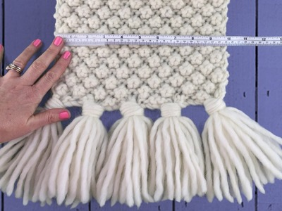 QUICK GUIDE TO MAKING TASSELS -  How To Make Tassels The Easy Way!