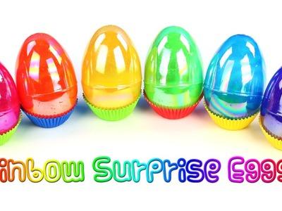 Rainbow Surprise Eggs The Second