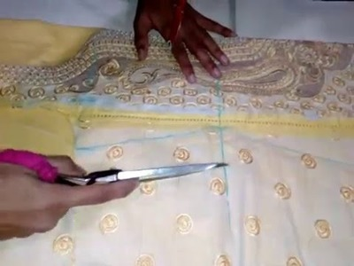 Simple kameez cutting and stitching in hindi
