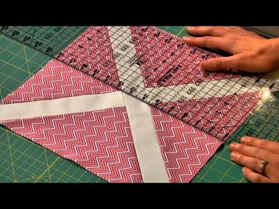 Slashed Quilt Block Start to Finish: Free Block of the Month Quilting Lessons
