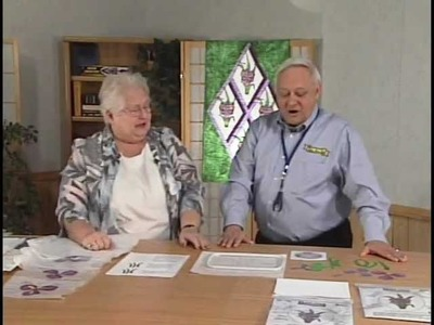 Stained Glass Quilt With Kaye Wood and James Raymer of Dalco Home Sew
