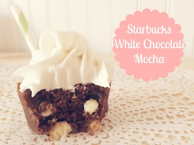 Starbucks White Chocolate Mocha Cupcake