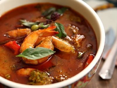 Thai Red Curry with Prawns   How To Make Thai Curry   The Bombay Chef – Varun Inamdar