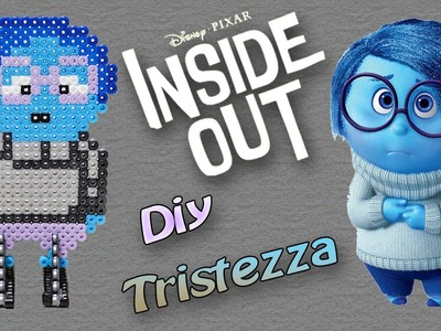 Tristezza di Inside Out con Hama Beads. Sadness Perler Beads Tutorial