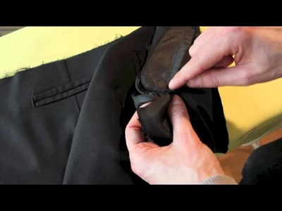 Trousers from scratch, Part 7c: Constructing the fly. Section C: Sewing the second half of our fly