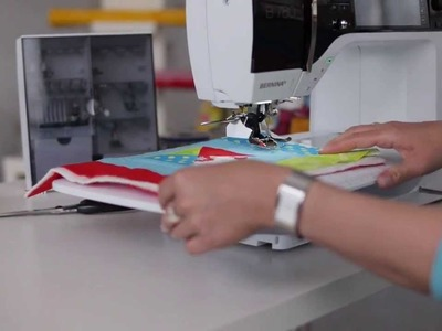 Tutorial: how to sew with the BERNINA walking foot no. 50