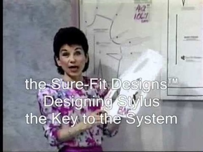 Tutotial: Drawing the Bodice Front Part 1 with Sure-Fit Designs™