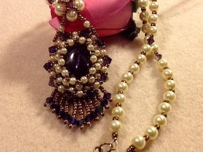 Vintage Pendant Necklace Tutorial